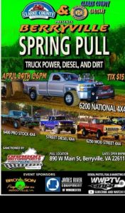 Berryville Spring Truck Pull @ Track